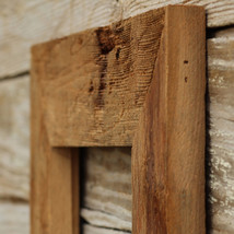 """The Appalachian 3.5"""" Natural - Vintage Rustic Decor Reclaimed Wood Frame (All Si - $19.00"""