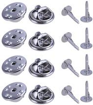 100 Set Silver Brooch Base Holder Pins Badge Holder for DIY Jewelry Maki... - $20.34