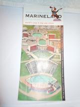 Vintage Marineland of the Pacific Brochure Las Angeles California 1959 - $6.99