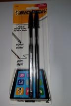BIC Cristal 2-in-1 Stylus Ballpoint Pen, Black Ink, 1.0mm, Medium - $6.79