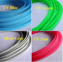 """4MM 5/32"""" Tight Braided PET Expandable Sleeving Cable Wire Sheath - 5 Meters - $15.95"""