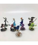 9 Disney Infinity Figures -Pirate Monster Inc,Frozen,Incredibles, Jack S... - $28.04