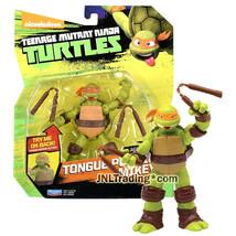 Year 2015 Teenage Mutant Ninja Turtles TMNT 5 Inch Figure TONGUE-POPPIN'... - $29.99
