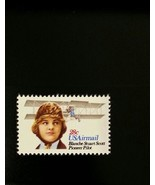 1980 28c Blanche Stuart Scott, First Woman Aviator, Airmail Scott C99 Mi... - $1.09