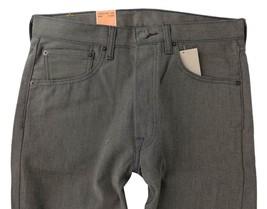 Levi's 501 Men's Original Fit Straight Leg Jeans Button Fly Brown 501-1890 image 2