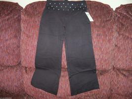P.S. Aeropostale Black Yoga Pants W/Gems Size 4 Girls NEW LAST ONE HTF - $35.99