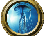 Jelly Fish - Porthole Wall Decal