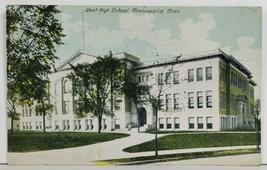 West Side High School Minneapolis Minnesota 1918 to Shafer Minn Postcard P4 - $8.95