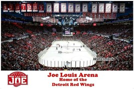 NHL Farewell Joe Louis Arena Detroit Red Wings Color 8 X 12 Photo - $6.99