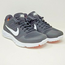 Nike Womens Alpha Huarache Elite 2 BQ4164-001 Size US 8 Softball Black White - $42.99