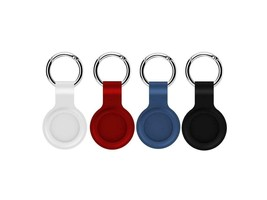 For Apple AirTag Silicone Case Protective Cover Tracker Keychain Holder ... - $3.91+