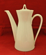 Rosenthal Germany Continental Classic Modern White Coffee Tea Pot Vintag... - $52.06