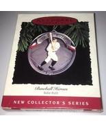 Hallmark - Keepsake Ornament - Baseball Heroes Series # 1 - Babe Ruth - $11.39