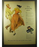 1950 Kotex Sanitary Napkins Advertisement - Very personally yours - $14.99