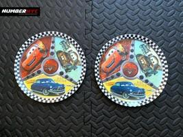 2x Disney Pixar Cars Dinner Plastic Plates Lightning McQueen Mater Doc H... - $29.69
