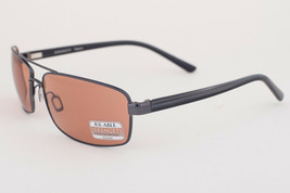 Serengeti San Remo Shiny Gunmetal Gray Stripe / Drivers Sunglasses 7608 - €158,74 EUR