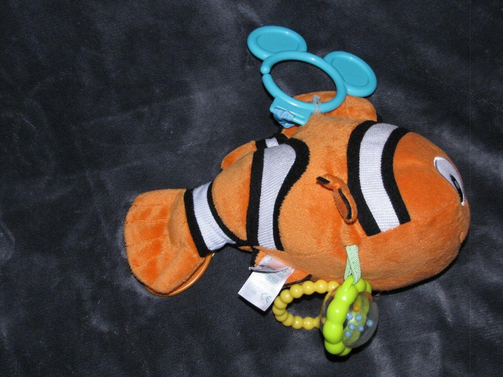 KIDS PREFERRED DISNEY BABY FINDING NEMO ORANGE CLOWNFISH CLOWN FISH RING TOY image 3