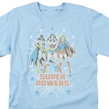 Wonder Woman Supergirl  Batgirl Super Powers DC Comics girls graphic tee DCO248 image 2