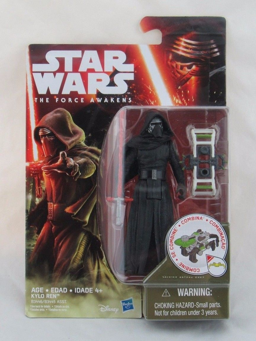 "Star Wars The Force Awakens Kylo Ren 3.75"" inch Action Figure, New"
