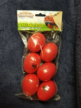 Marvel Spider-Man Decal 6 Fillable Plastic Easter Eggs w/ 5 Stickers in ... - $9.95