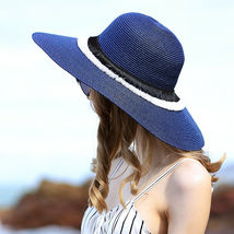 Sedancasesa® Sun Hats For Women Sombreros Straw Summer Floppy Visor Caps image 3
