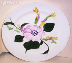 """BLUE RIDGE SOUTHERN POTTERY-- MOUNTAIN ASTER BREAD AND BUTTER PLATE  7"""" - $12.45"""