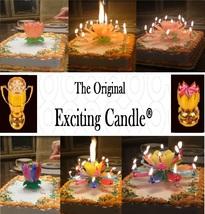 1 Rainbow + 1 Orange  Amazing Lotus Flower Music Happy Birthday EXCITING... - $14.99