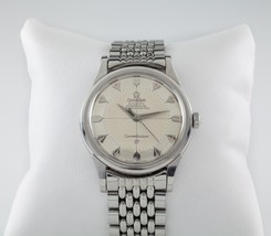 Omega Vintage Constellation Pie Pan Stainless Steel Watch #551 #14381 - $2,580.45