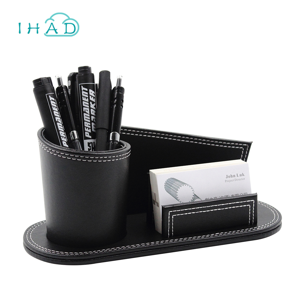 Creative pu leather pen box business card and 50 similar items creative pu leather pen box business card holder multi functional pencil organiz reheart Gallery