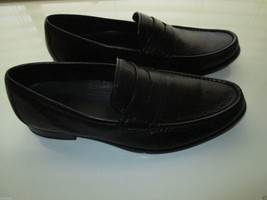 """Cole Haan C08171 Penny Pebbled Leather  Men Loafer Black 10.5M (10 13/16"""" feet) - $81.69"""