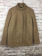 Talbots Womens Wool Coat Blazer Jacket Size 12 W Lined - $31.79