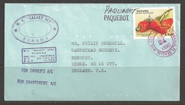 1990 Paquebot Cover Pamama stamp used in Jacksonville, Florida (Jul 24) - $5.00