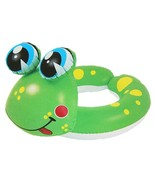 Pool Central 24IN Green Yellow Frog Children's Inflatable Pool Ring Inne... - $5.68
