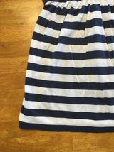 Abercrombie New York Blue & White Striped Girls Tube Top Shirt - Size: XL image 7