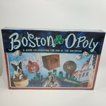 Boston-Opoly Board game - Celebrating the Hub of the Universe Mass New S... - $33.90