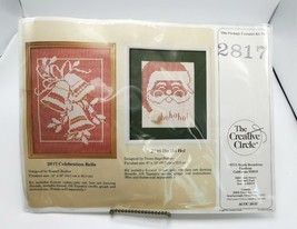 Creative Circle 2817 Celebration Bells Needlepoint Kit Christmas Sealed - $24.99