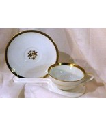 Noritake Goldston Coffee Cup And Saucer Set #5595 - $8.09