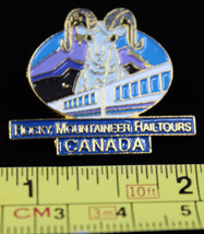 Rocky Moutaineer Railtours Canada Collectible Pinback Pin Button Mountai... - $10.31