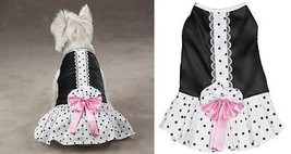 Cocktail Party Dress for Dogs - East Side Collection XS - $13.37