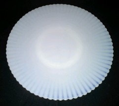 Petalwear Monax Macbeth Evans USA 11 Inch White Salver Plate Ring Base Vintage - $18.99