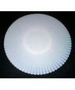 Petalwear Monax Macbeth Evans USA 11 Inch White Salver Plate Ring Base V... - $18.99