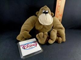 "Disney APE George of the Jungle Plush Stuffed toy Gorilla NEW 8"" Doll - $9.79"