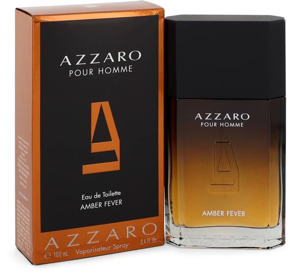 Azzaro amber fever pour homme 3.4 oz cologne