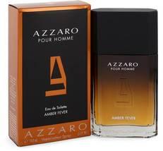Azzaro Pour Homme Amber Fever Cologne 3.4 Oz Eau De Toilette Spray image 1