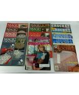 Magic Crochet Fantasy Old Time Crochet Magazines Vintage 1980s Lot of 14 - $94.99