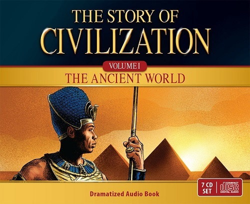 The story of civilization vol. 1   the ancient world  audio drama cds