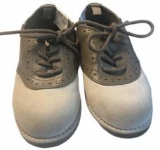 Gymboree Savanna Party Toddler Size 8 Tan Brown Saddle Dress Shoes Holiday - $39.11