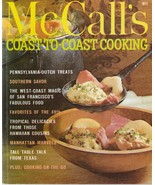 McCall's Coast to Coast Cooking 1978 Vintage Cookbook M11 Kay Smith - $5.93