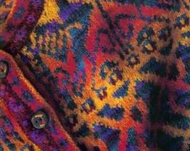 Spin-off magazine Spring 1994: sample coat; scrap vest, woven alpaca scarf - $17.77