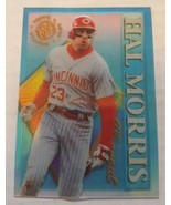 1995 Topps Stadium Club Clearcut #9 Hal Morris Cincinnati Reds Baseball ... - $1.00